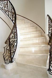 marble stairs